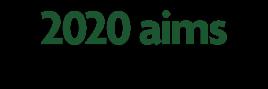 2020 Aims