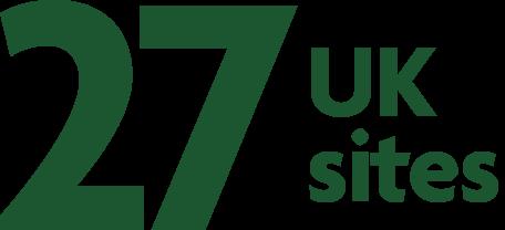 27 UK sites