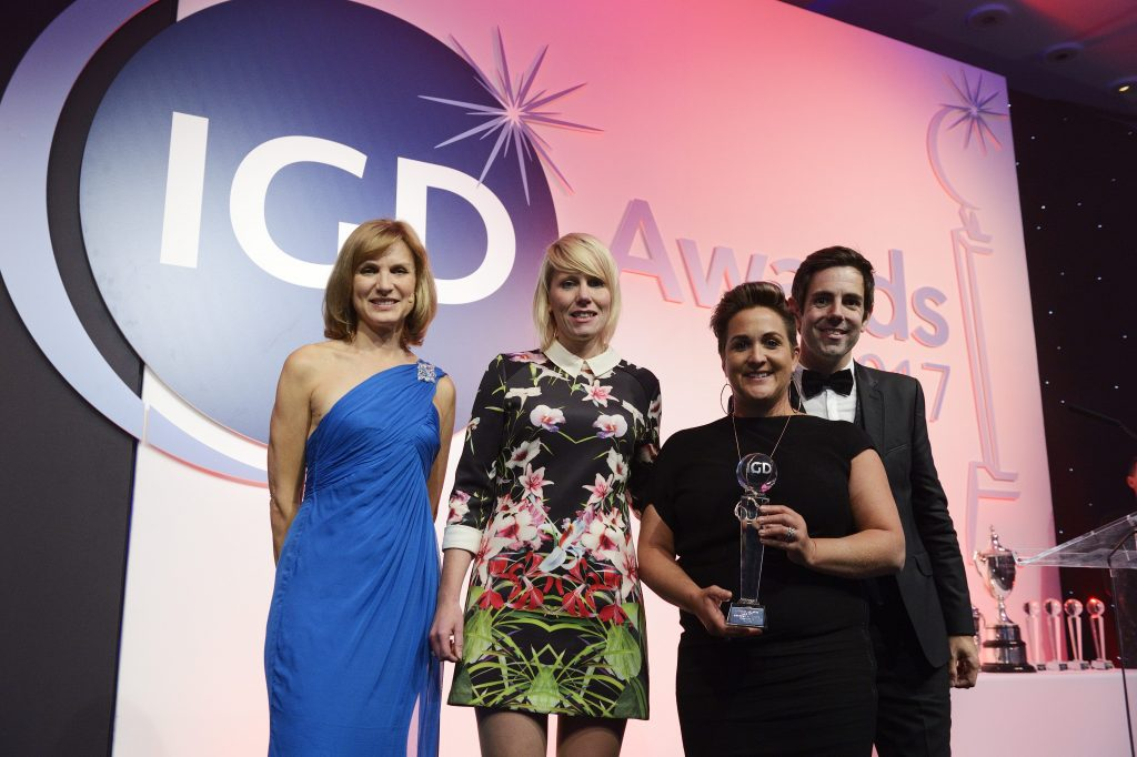 ABP UK received IGD Award for its Anti Modern Slavery Campaign