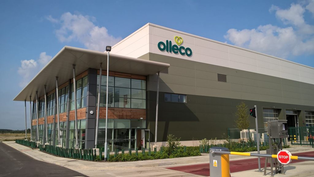 ABP Food Group renewables division, Olleco's new 15MW Anaerobic Digestion facility in Alylesbury, Buckinghamshire