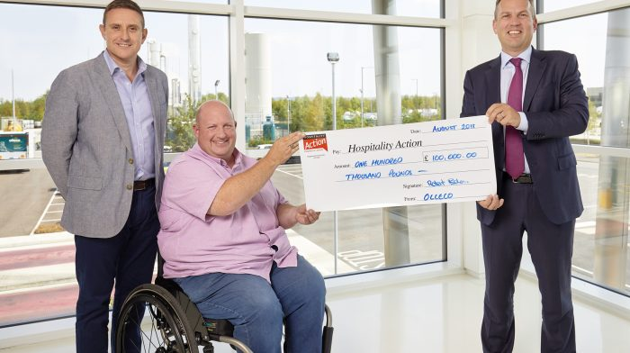 ABP's Olleco Raises Over £100,000 For Hospitality Workers In Need