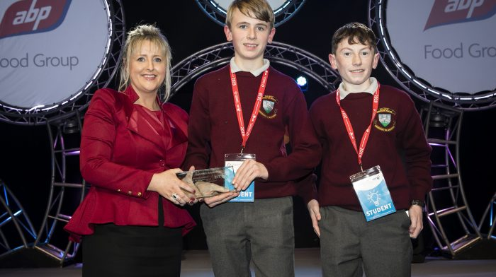 Cork Students Announced as Winners of the ABP Farm Safety category At BTYSTE 2019